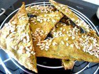 crackers-de-courgettes-aux-graines-servir