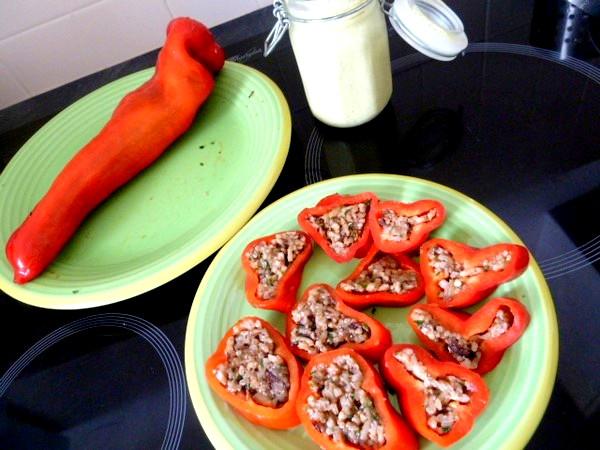 poivrons-tomates-crus-farcis-assaisonner