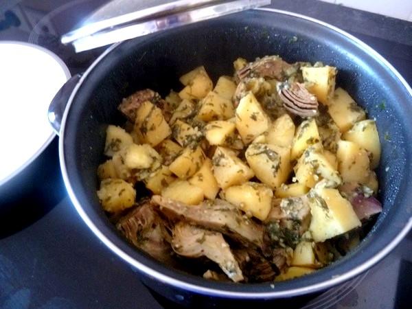 artichauts-pommes-de-terre-persilles-fondants