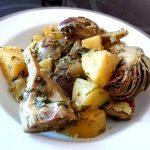 artichauts-pommes-de-terre-persilles-dresser
