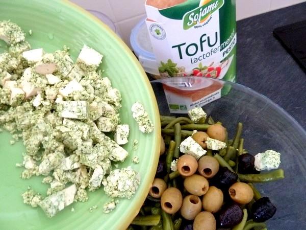 salade-proteinee-haricots-verts-tofu-au-pesto-chanvre
