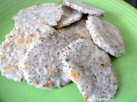 galettes-semoule-de-riz-et-graines-de-chia-dresser