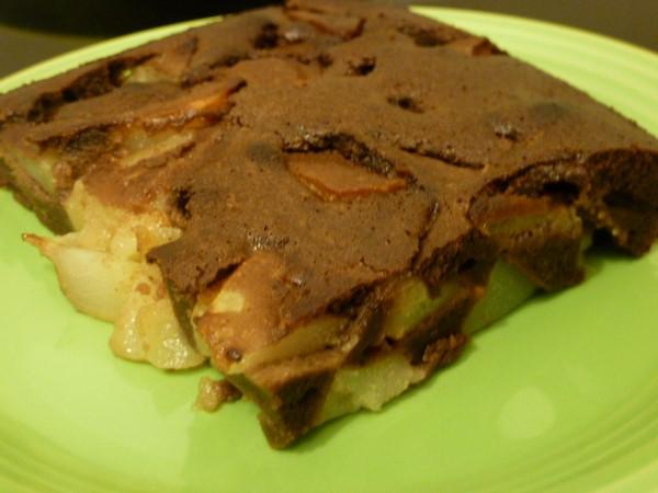 clafoutis-poires-au-chocolat-servir
