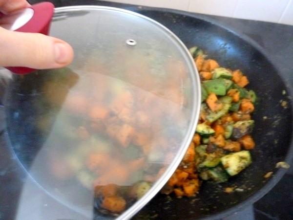 courgettes-et-patates-douces-couvrir-pour-refroidir