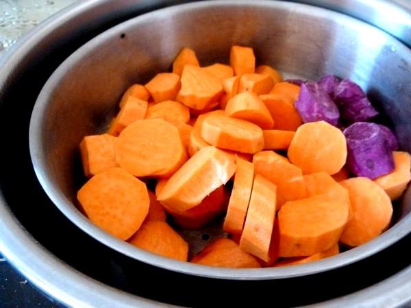 endives-sauce-agrume-et-patates-douces-cuisson-vapeur