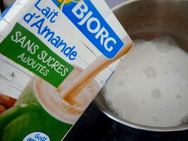 pain de citrouille lait amande