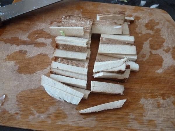 chou chinois au tofu jus tofu alumettes