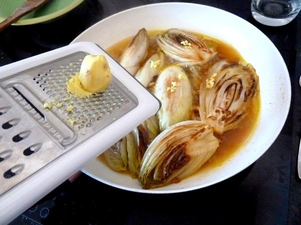 endives-sauce-agrume-et-patates-douces-gingembre