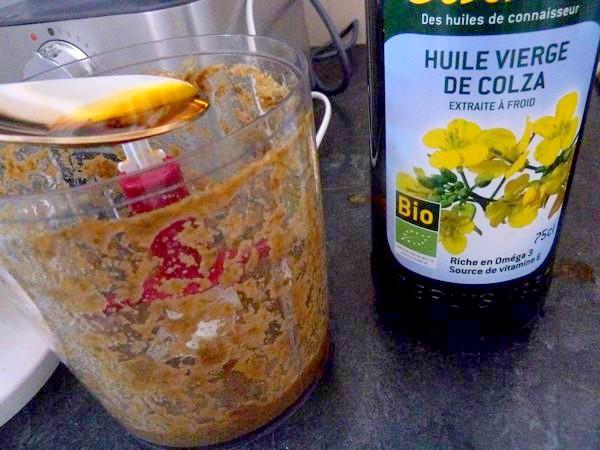 celeri remoulade vegan spiruline huile colza