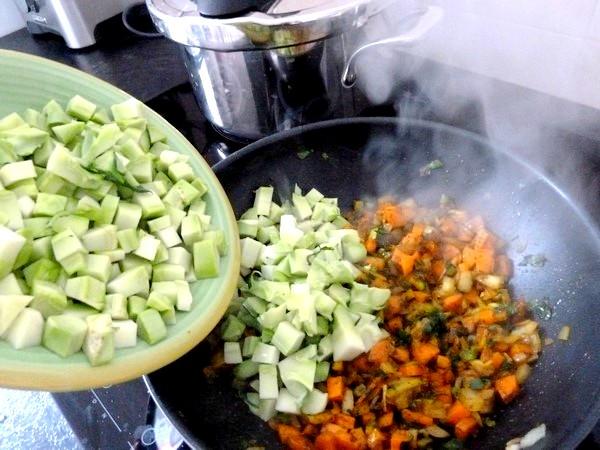 wok brocolis citronnes cuisson brocolis