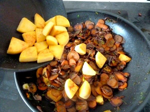 carottes et panisse dorees ajouter