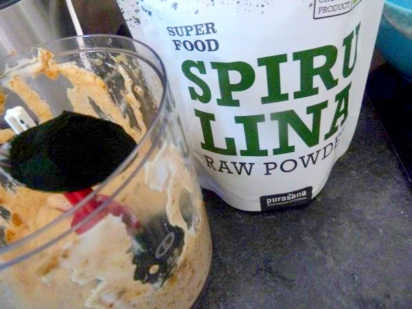celeri remoulade vegan spiruline poudre