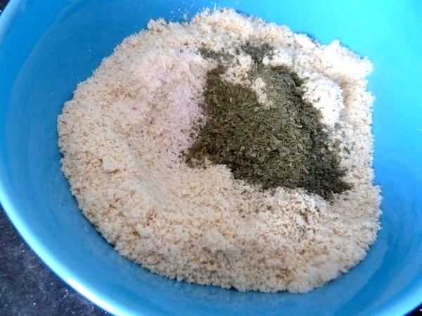 pates sans gluten au chou kale ail des ours sel