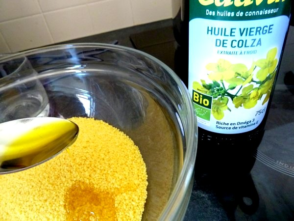 couscous vegan courge musquee pois chiches huile colza