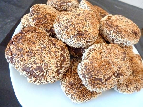 pains farine de pois chiche et aubergines dorés au four