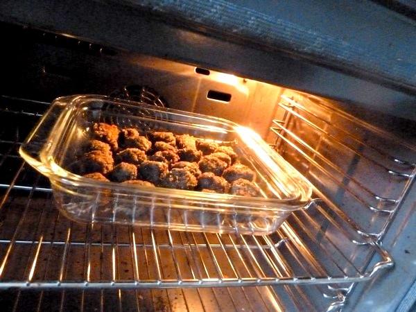 falafels aux haricots graines de lin persil enfourner