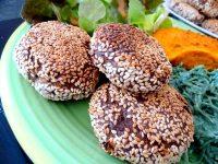 pains farine de pois chiche et aubergines accompagner legumes