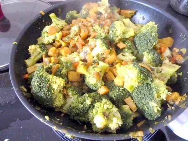 wok brocolis citronnes wok complet