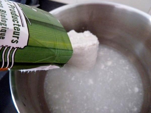 mousse chocolat coco lait de coco