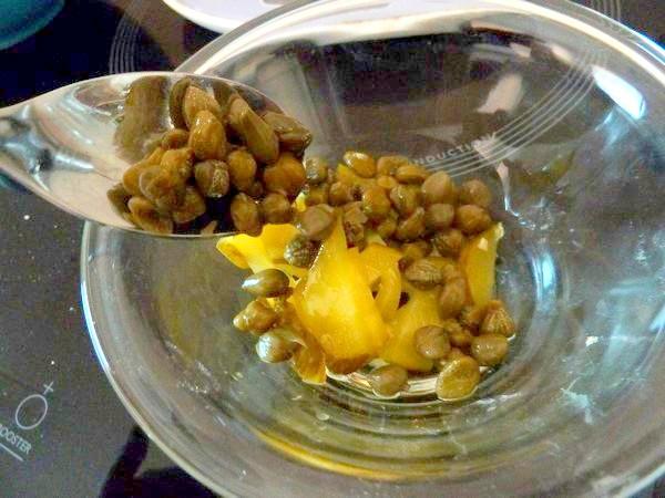 celeri remoulade vegan spiruline capres