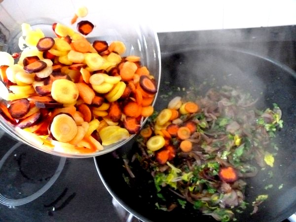 carottes et panisse dorees plonger carottes