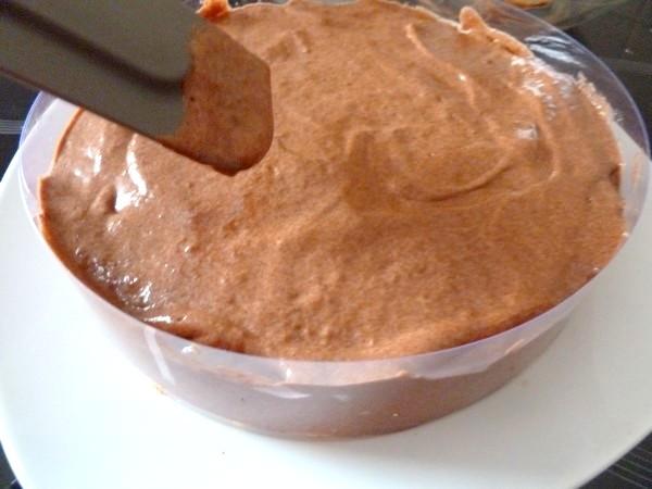 duo de mousse chocolat coco lisser