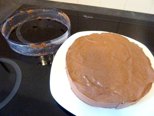 duo de mousse chocolat coco gateau