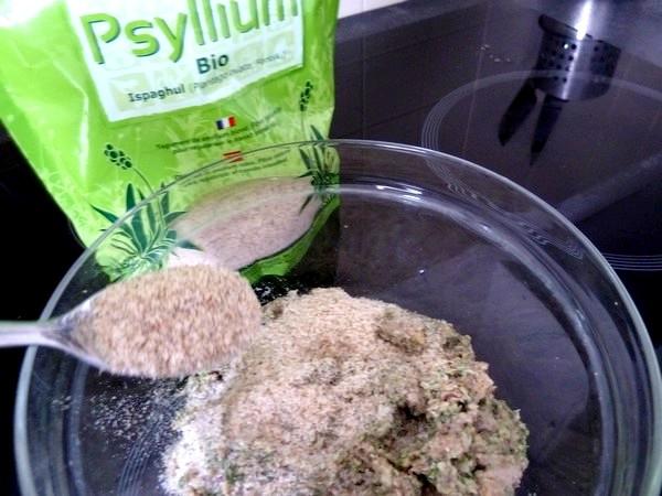 falafels aux haricots graines de lin persil epaissir psyllium