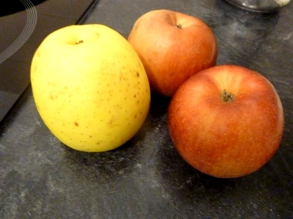 tarte rapide pomme orange