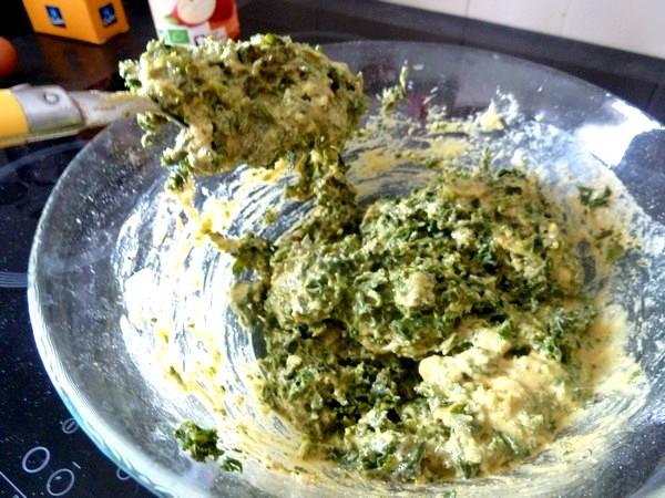 chou kale en beignets pate ferme