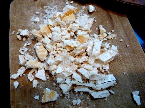 mousse chocolat au crumble meringue au couteau
