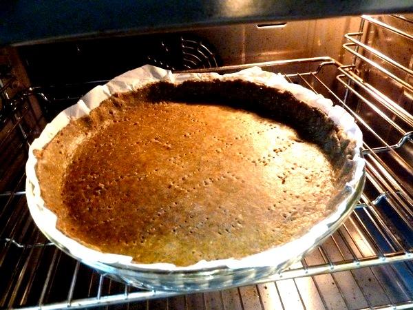 tarte aux graines blettes et oignon rouge precuisson