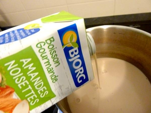 millefeuille noisette praline lait amande noisette