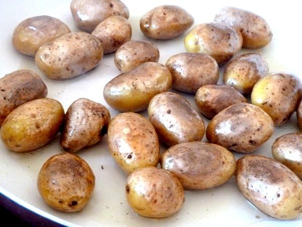 chou romanesco aux pommes grenaille dorer