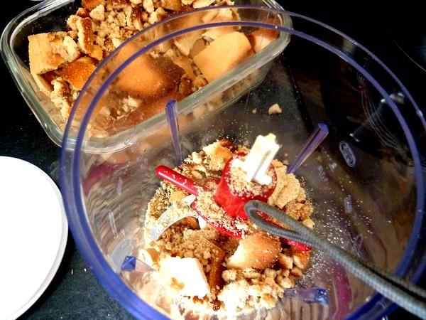 creme biscuitee au cacao mixer crumble