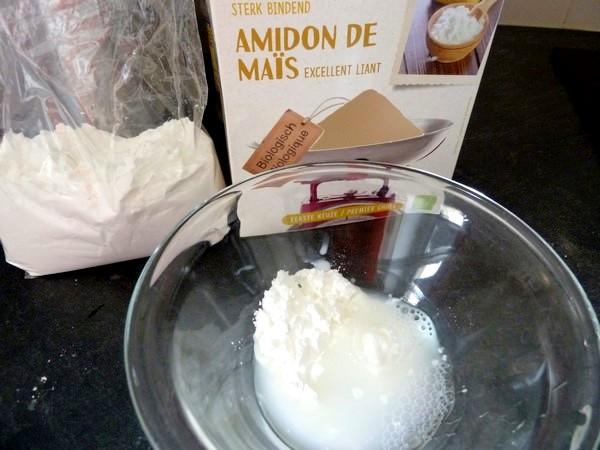 chou-fleur patate douce creme champignons maizena