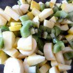 Salade pommes-kiwis