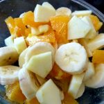 Salade mandarines-pommes-bananes
