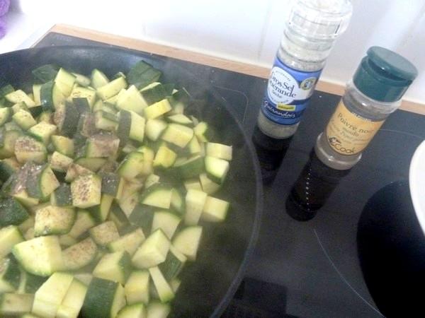 coquillettes sans gluten aux courgettes
