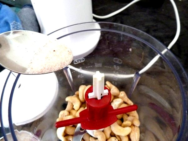 courgettes aux noix de cajou