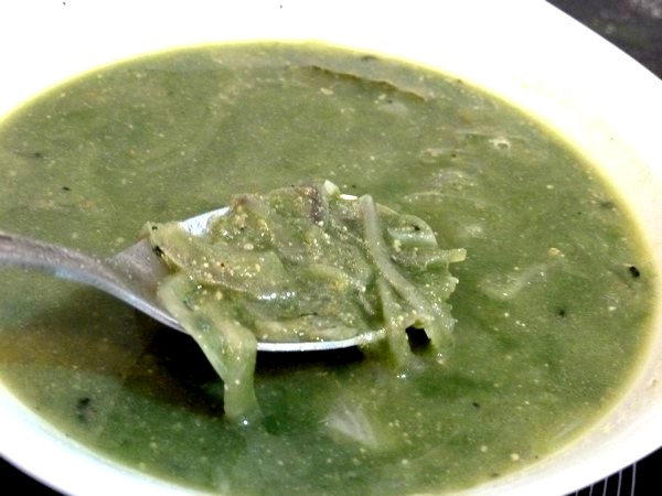 soupe oignon sesame spiruline