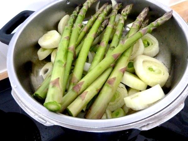 asperges et fenouil mayonnaise