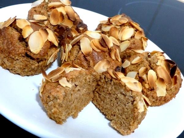 cakes legers aux noix