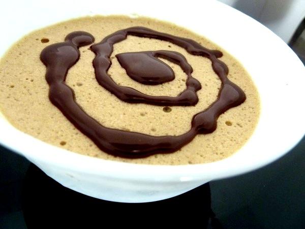 mousse rapide au cafe chocolat