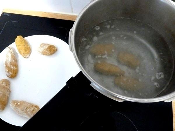 quenelles aux patates douces