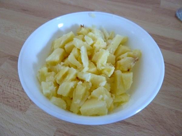 crème glacée ananas banane