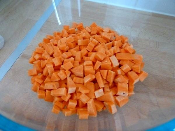 rissoles épicées de patate douce