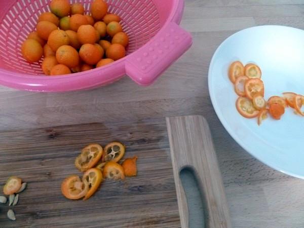 chou rouge aux kumquats