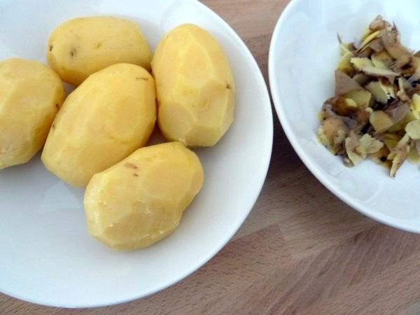 courgettes patates et crème cajo