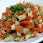salade poivrons fenouil ail gingembre